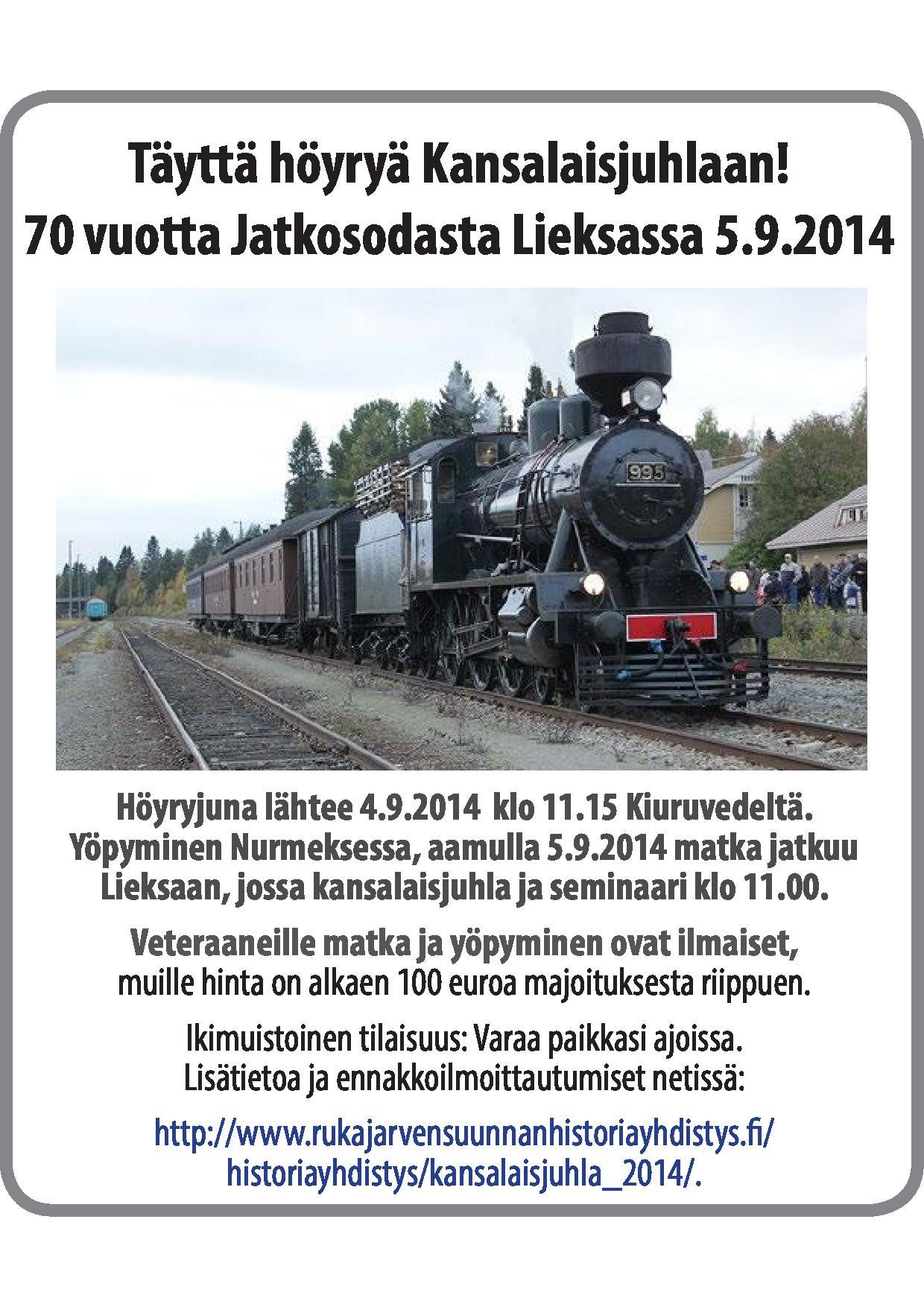 Höyryjuna 2x100 ISKN 2014