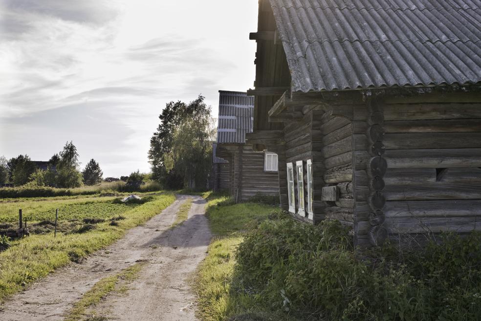 Himolan kylän raitti, Ari Komulaisen kuva.