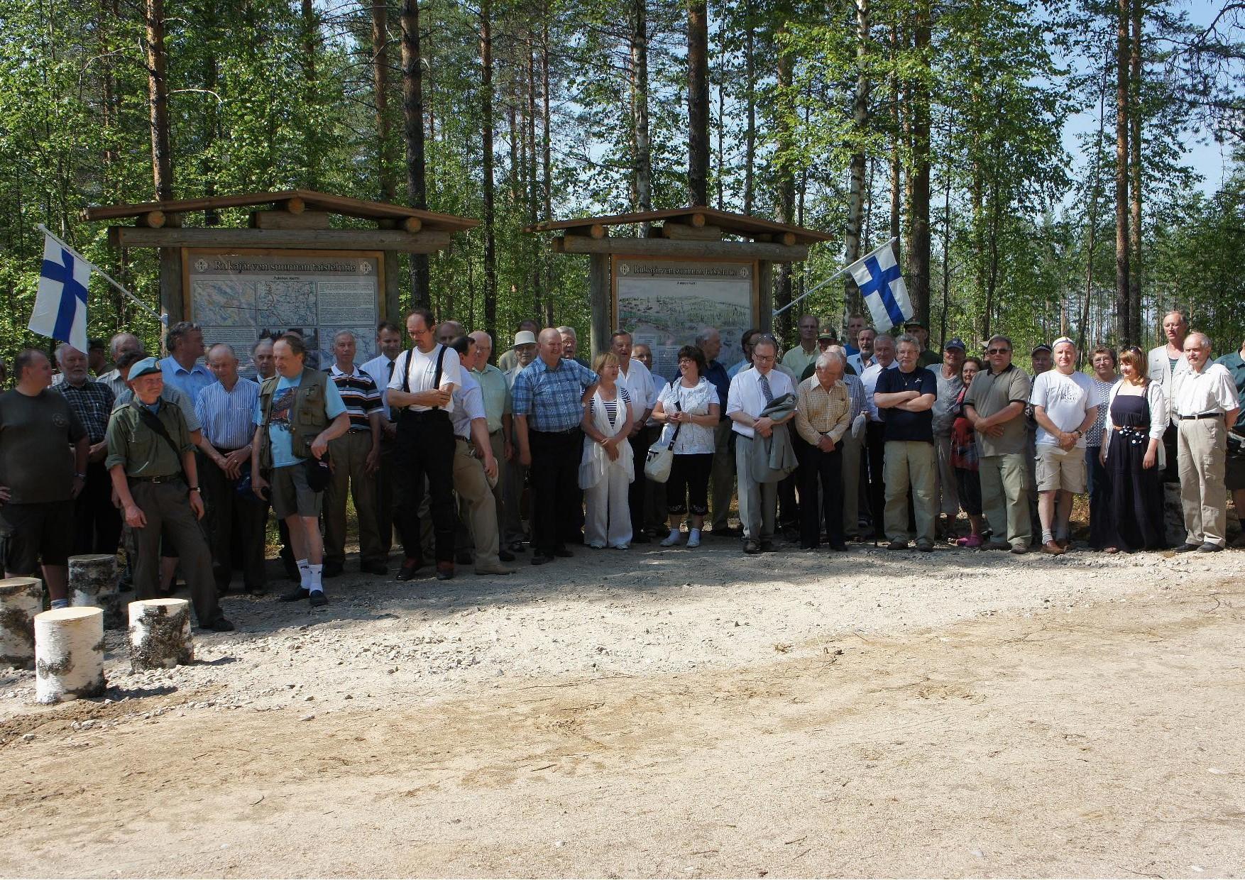Rukajärven tie nimettiin Jukolan Motissa 2.7.2011 pidetyssä juhlassa. Juhlaan osallistui n. 100 henkilöä.