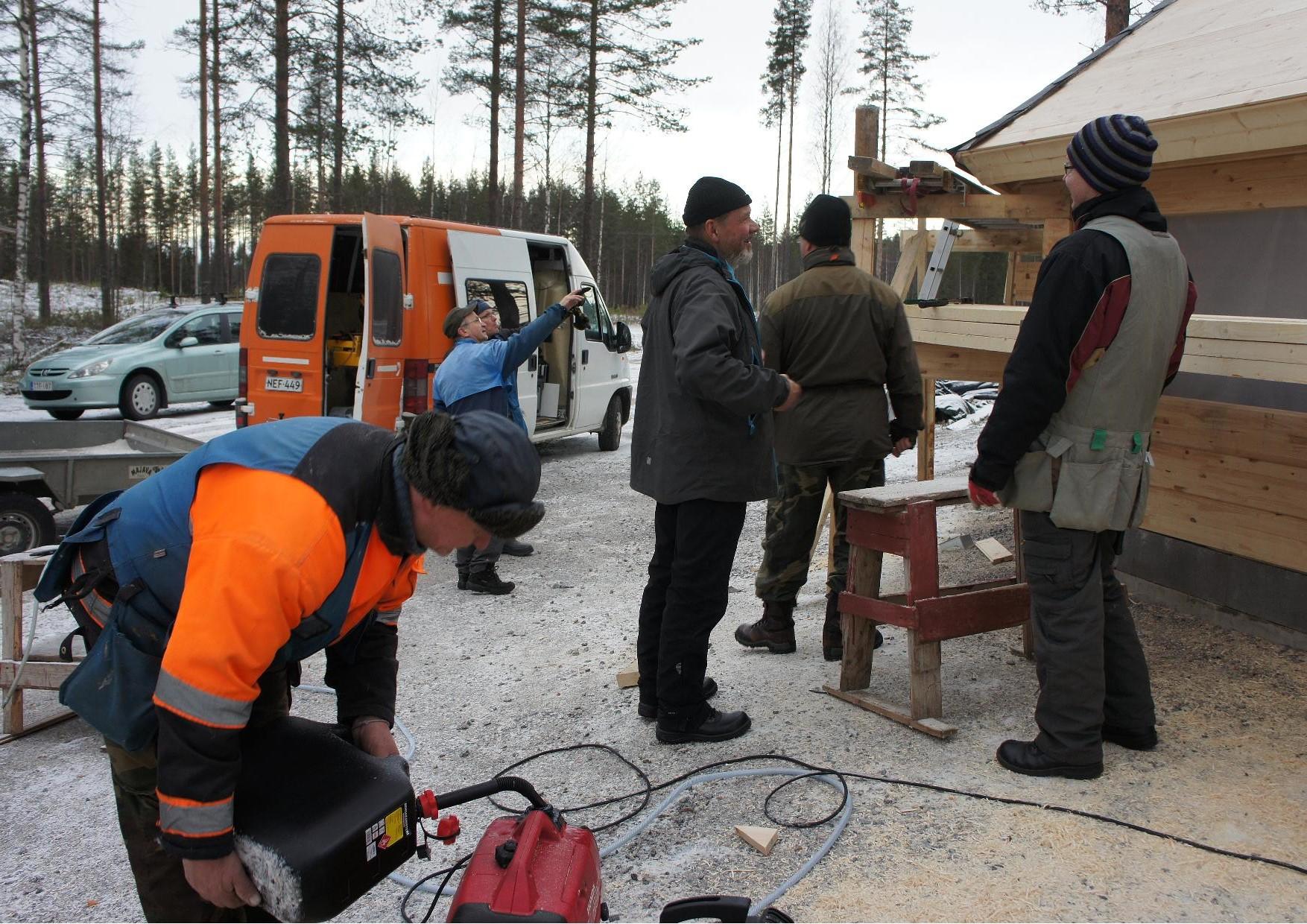 Jukolan Motin kotakeittiö etsii paikkaansa - Rukajärven suunnan historiayhdistys