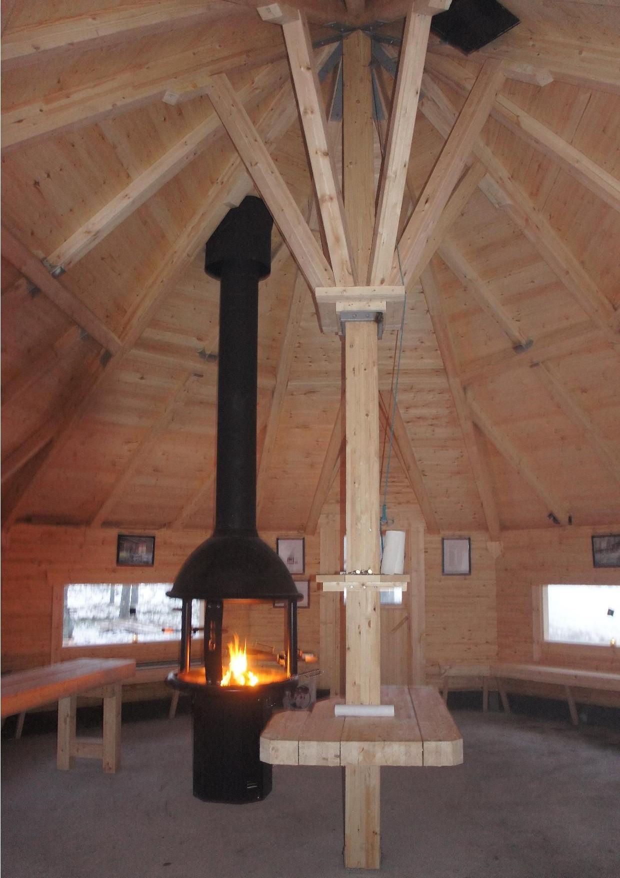 Kodan katon tukirakenteet ovat vahvat