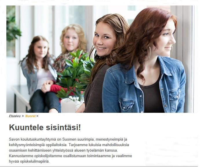 Savon ammatti- ja aikuisopisto kannustaa opiskelijoitaan. Näin kuntayhtymän johtaja Esa Karvinen. Kuva oppilaitoksen nettisivulta.