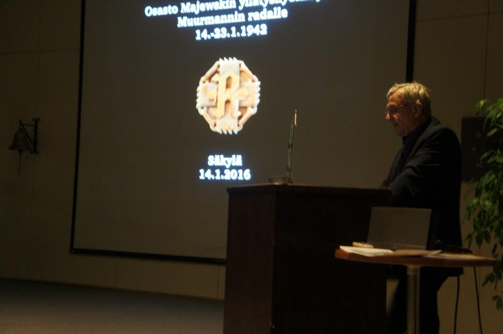 Raine Narvan esityksen on kuullut yli 1000 henkilöä.