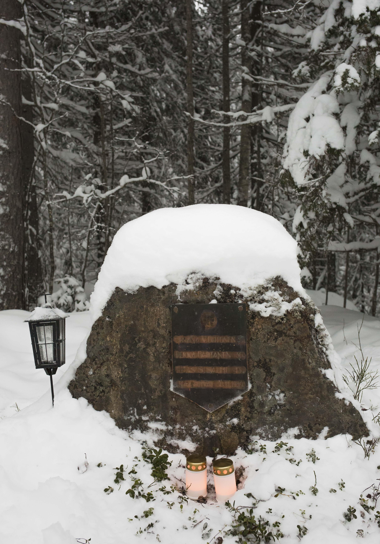 Louhikkomäen muistomerkki