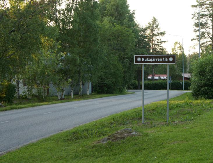 Rukajärven-tie-Lieksa