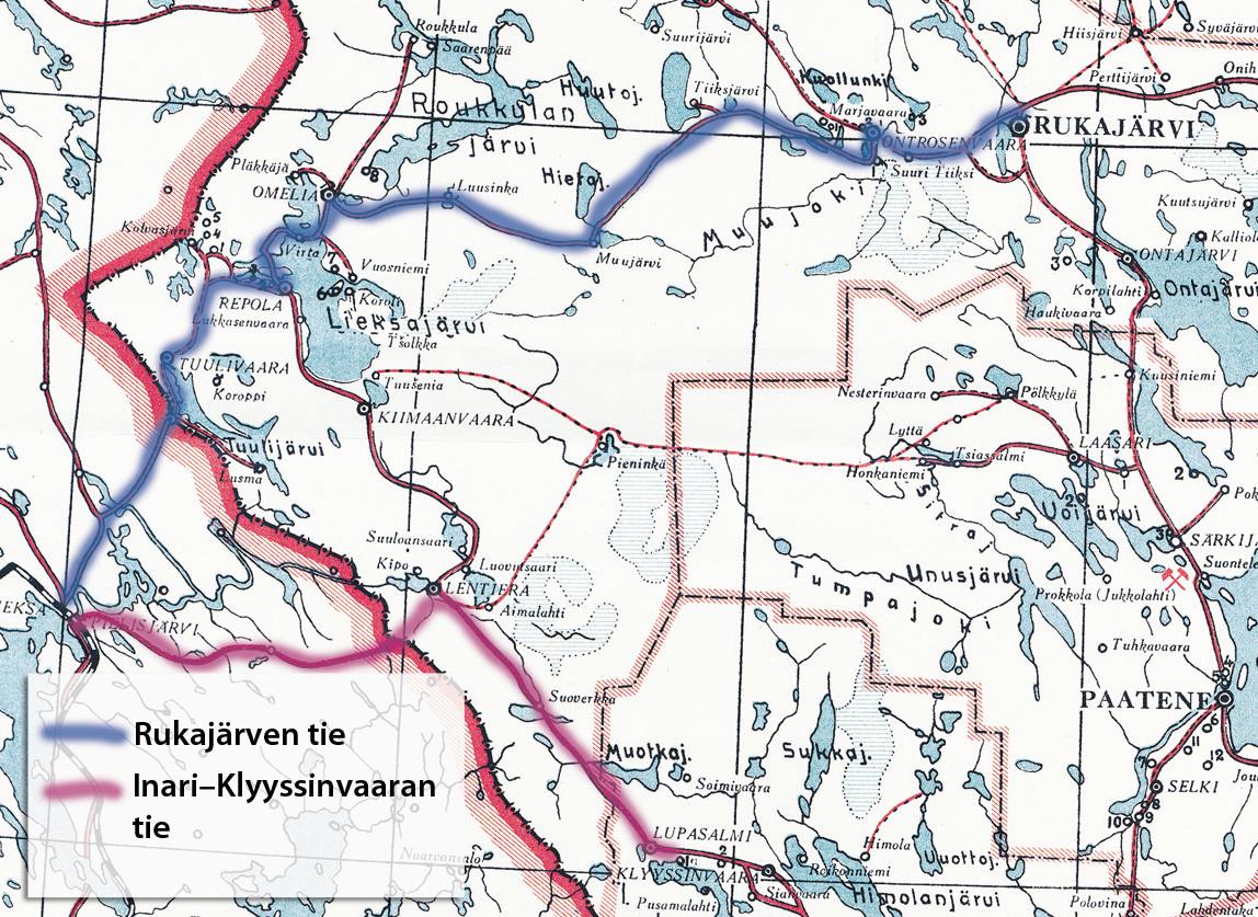 Rukajärven tie