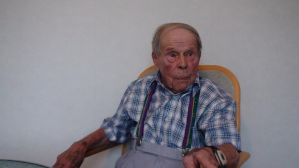 Veikko muutti Ranta-ahosta Pielaveden kirkonkylälle vasta pari vuotta sitten.