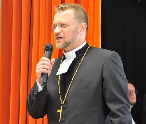 Kuopion hiippakunnan piispa Jari Jolkkonen, kuva Juha Antikainen.