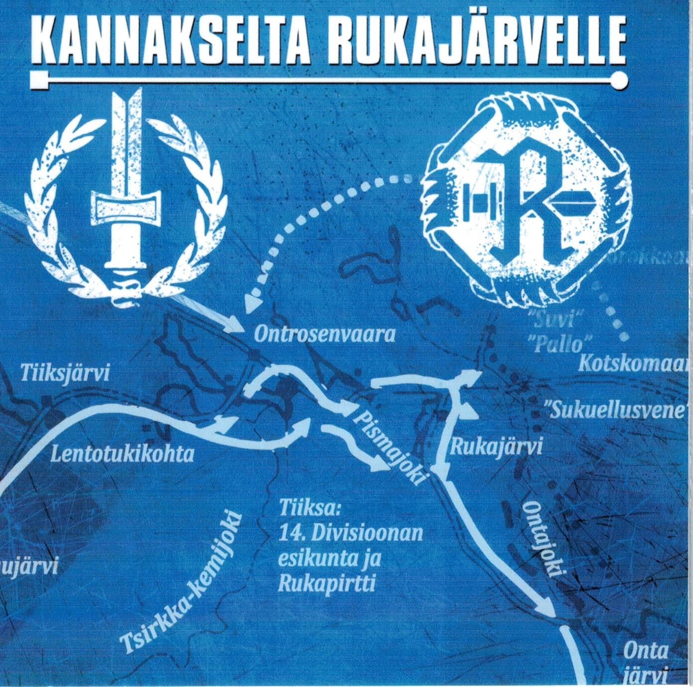 Kannakselta Rukajärvelle - levy - 1