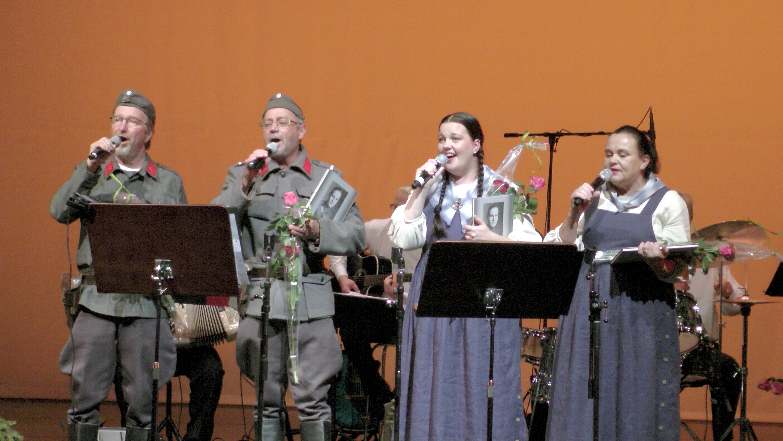 VETMUT-orkesterin solistit Iisalmen kulttuurikeskuksen konsertissa. Kuva Antero Huttunen.