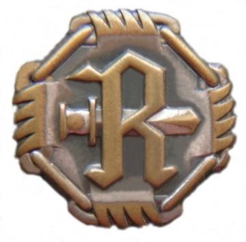 1 E Rukajärven suunnan merkki 1942 värillisenä