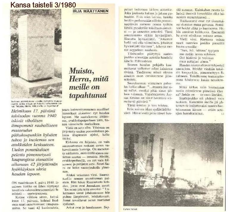 Kansa taisteli - 3 - 1980.