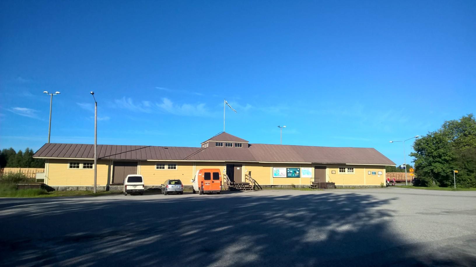 —Yhdistys hankki Lieksan aseman kiinteistön omistukseensa, 373 m2:n näyttelytilat ja 3700 m2:n piha-alue.