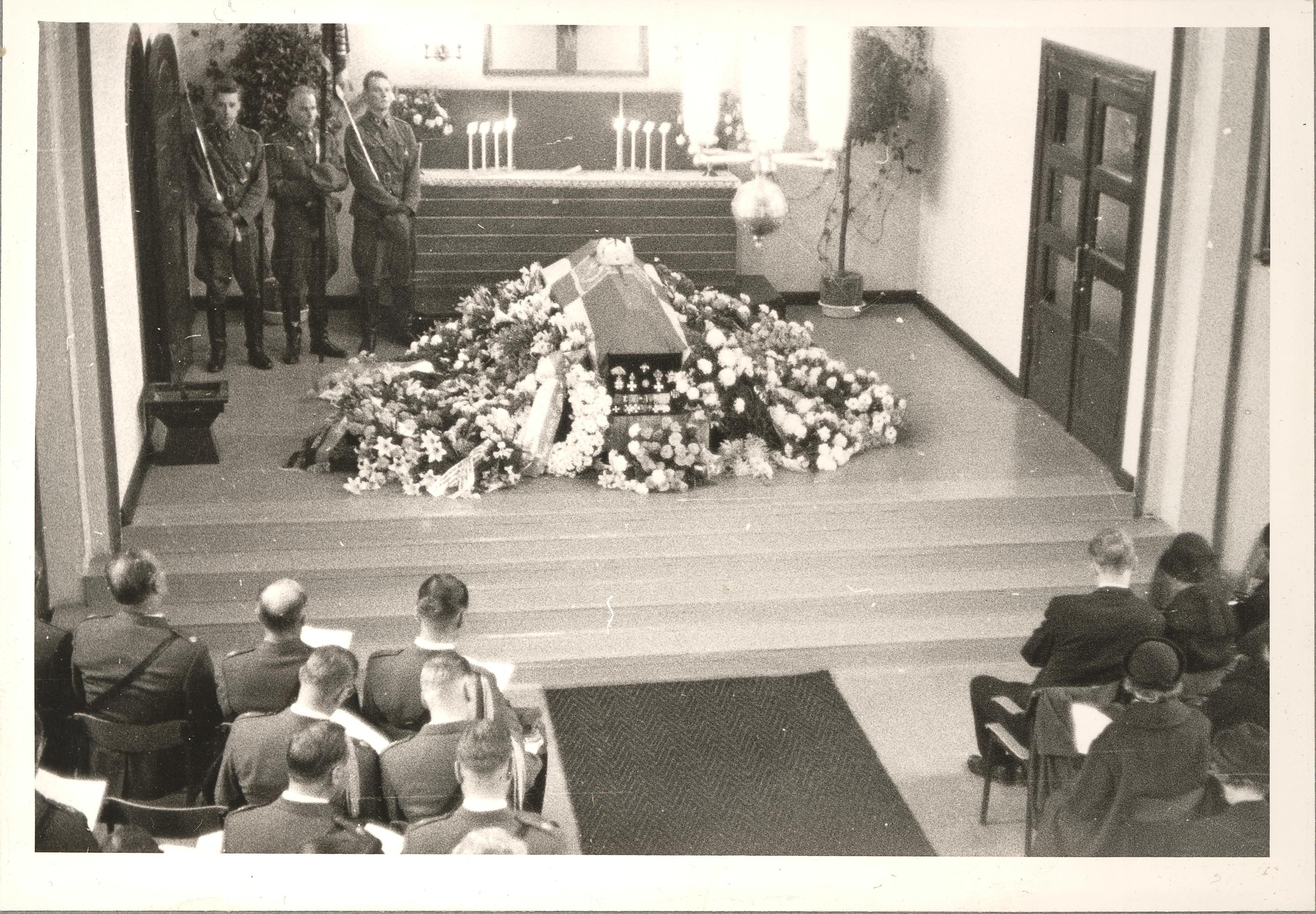 E.J. Raappanan hautajaiset 21.9.1962