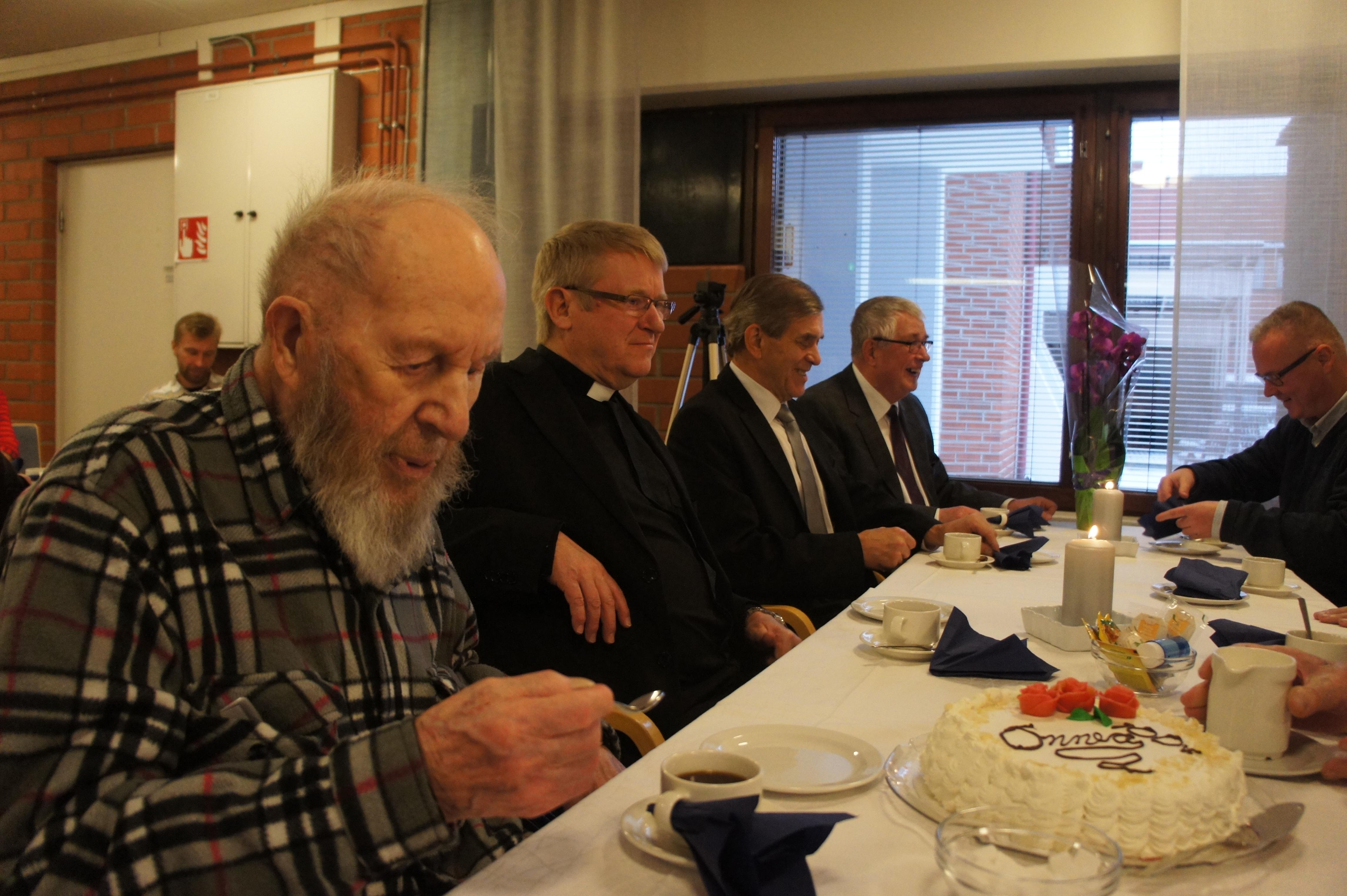 Mikko Bergman, Risto Pentikäinen, Arvi Alpia ja Seppo Räihä.