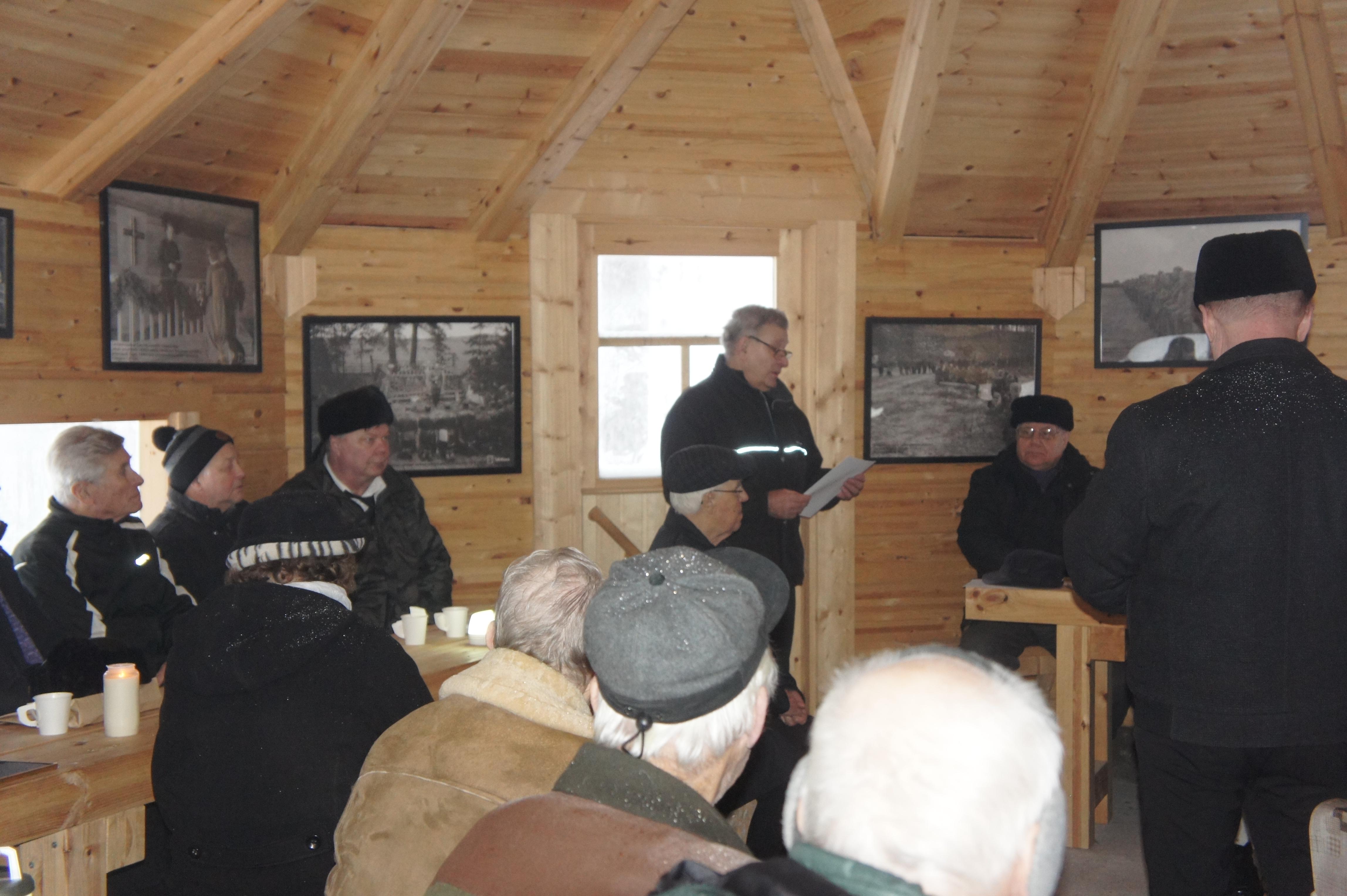 Kivivaaran suunnan ensimmäisen päivän uhrit oli Esko Kuitusen juhlapäivän esitelmän aiheena.